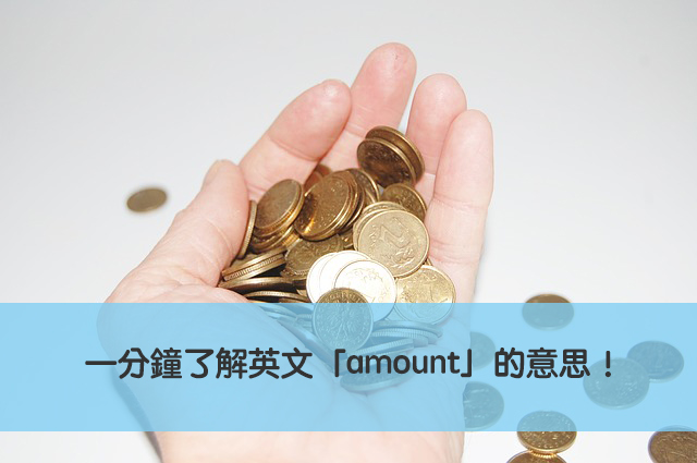 amount 中文