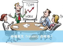 career 中文
