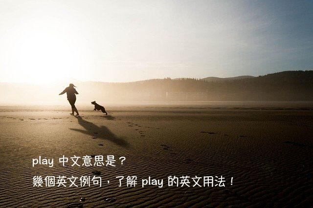 play 中文意思 用法