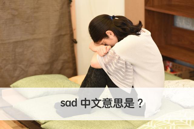 sad 中文意思