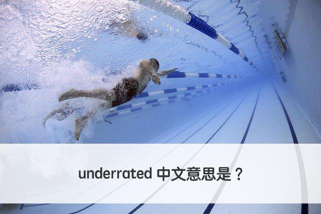 underrated 中文意思