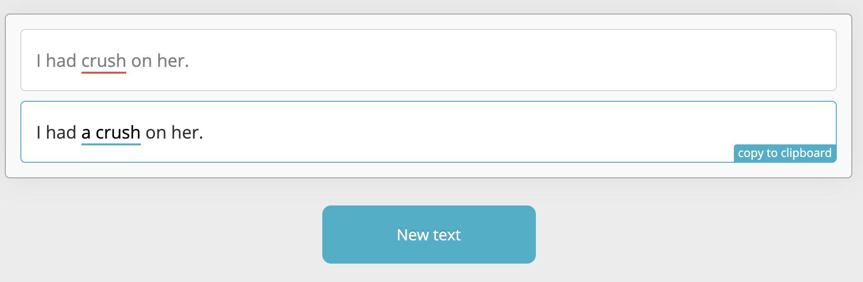 Ginger 線上英文文法檢查器