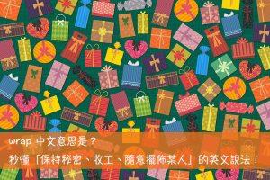 wrap 中文意思