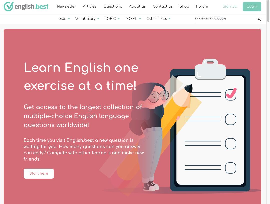 EnglishBest 英文學習網站